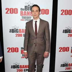 Jim Parsons en la fiesta de 'The Big Bang Theory' por sus 200 capítulos