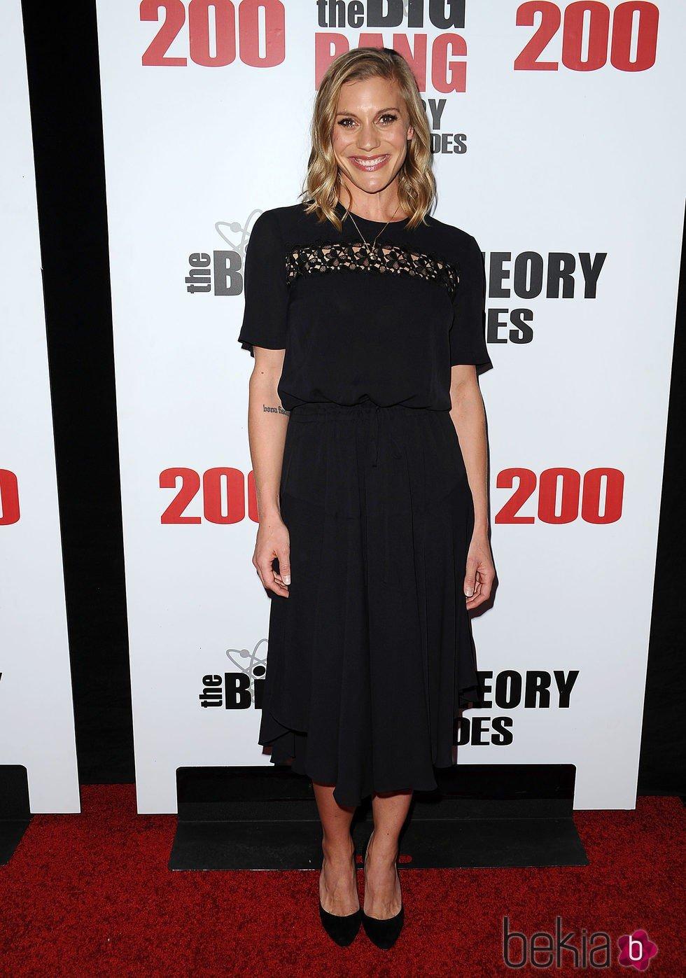 Katee Sackhoff en la fiesta de 'The Big Bang Theory' por sus 200 capítulos