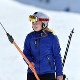Amalia de Holanda esquiando en sus vacaciones de invierno en Austria