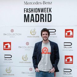 Álex Lequio en el desfile de María Lafuente en la Madrid Fashion Week otoño/invierno 2016/2017