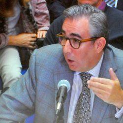 Diego Torres declarando en la décima sesión del juicio por el Caso Nóos