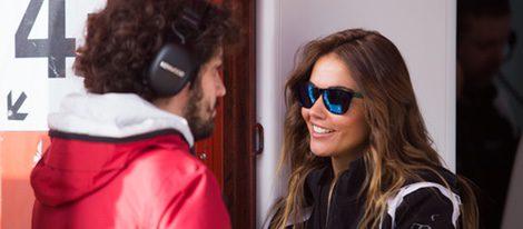 Lara Álvarez en Montmeló en los entrentamientos del Mundial de Fórmula Uno 2016
