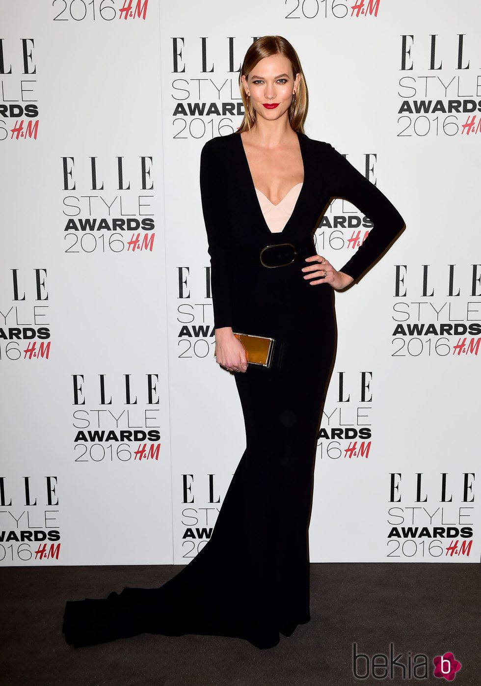 Karlie Kloss en los Premios Elle Style 2016