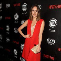Louise Roe en una fiesta organizada por Vanity Fair en Hollywood