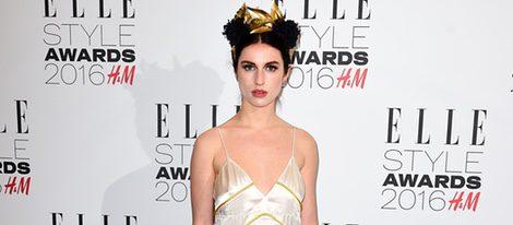 Tali Lennox en los Premios Elle Style 2016