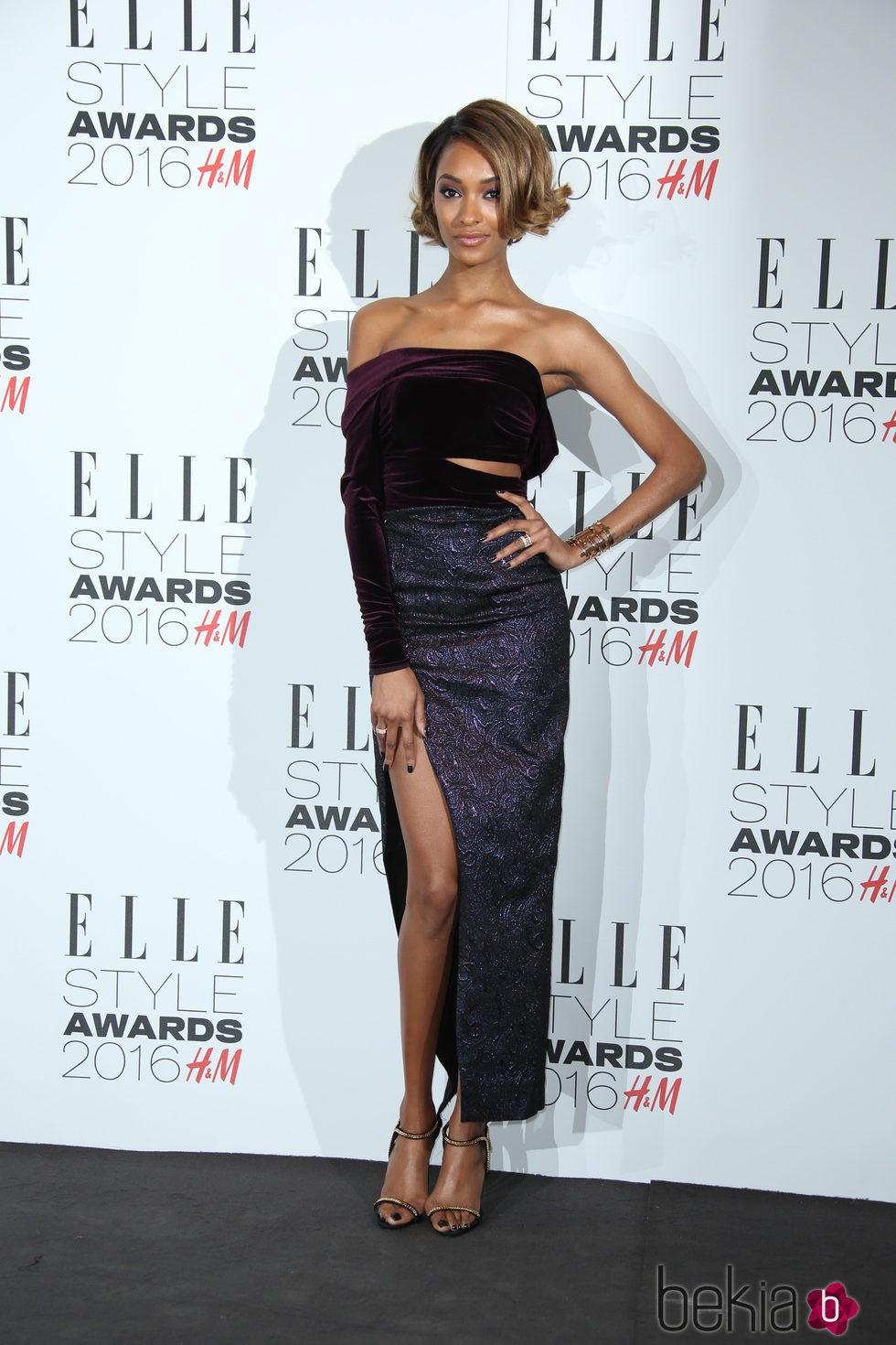Jourdan Dunn en los Premios Elle Style 2016