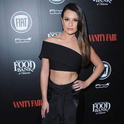 Lea Michele en una fiesta organizada por Vanity Fair en Hollywood