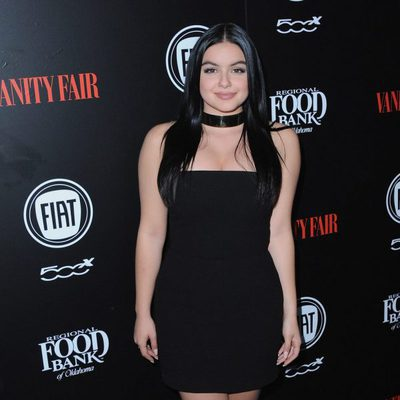Ariel Winter en una fiesta organizada por Vanity Fair en Hollywood