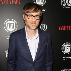 Stephen Merchant en una fiesta organizada por Vanity Fair en Hollywood