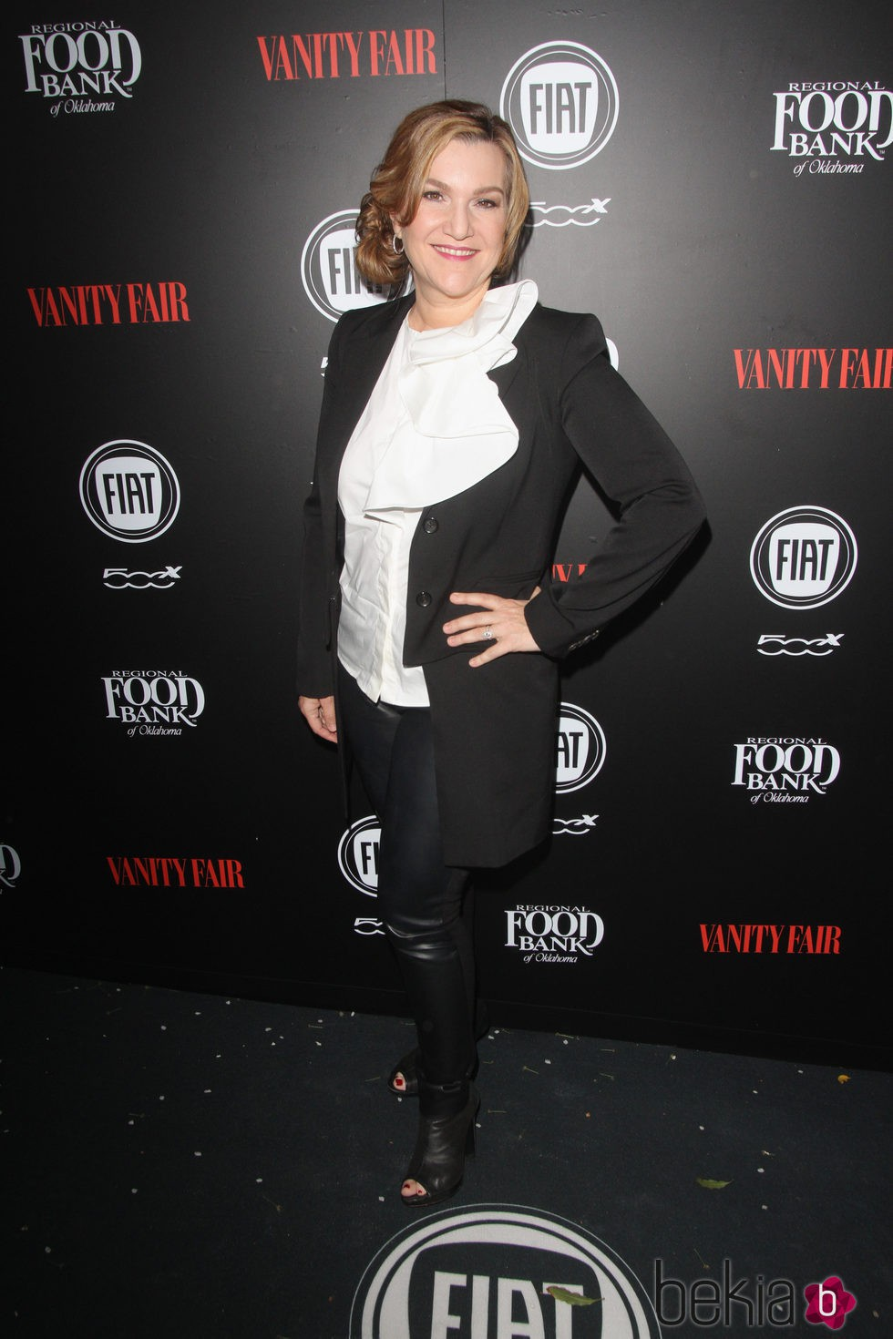 Krista Smith en una fiesta organizada por Vanity Fair en Hollywood