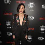 Mia Moretti en una fiesta organizada por Vanity Fair en Hollywood