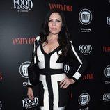 Christa Campbell en una fiesta organizada por Vanity Fair en Hollywood