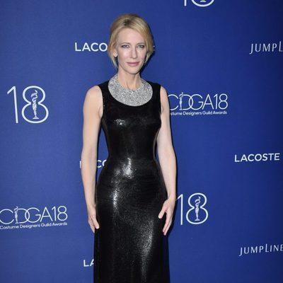 Cate Blanchett en la entrega de los Costume Designers Guild Awards en Los Ángeles