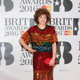 Annie Mac en la alfombra roja de los Premios Brit 2016