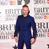 Nicky Byrne en la alfombra roja de los Premios Brit 2016