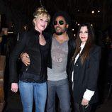 Melanie Griffith y Lenny Kravitz disfrutando de una noche de fiesta por Hollywood
