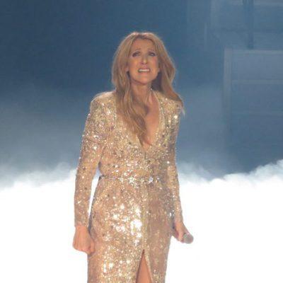 Céline Dion muy emocionada en el concierto homenaje a su marido René Angélil en Las Vegas