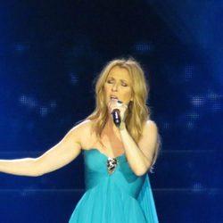 Celine Dion en el concierto homenaje a su marido René Angélil en Las Vegas