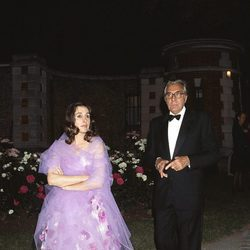 Carmen Martínez-Bordiú y Jean Marie Rossi