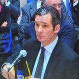 Iñaki Urdangarín en su declaración en el juicio por el Caso Nóos
