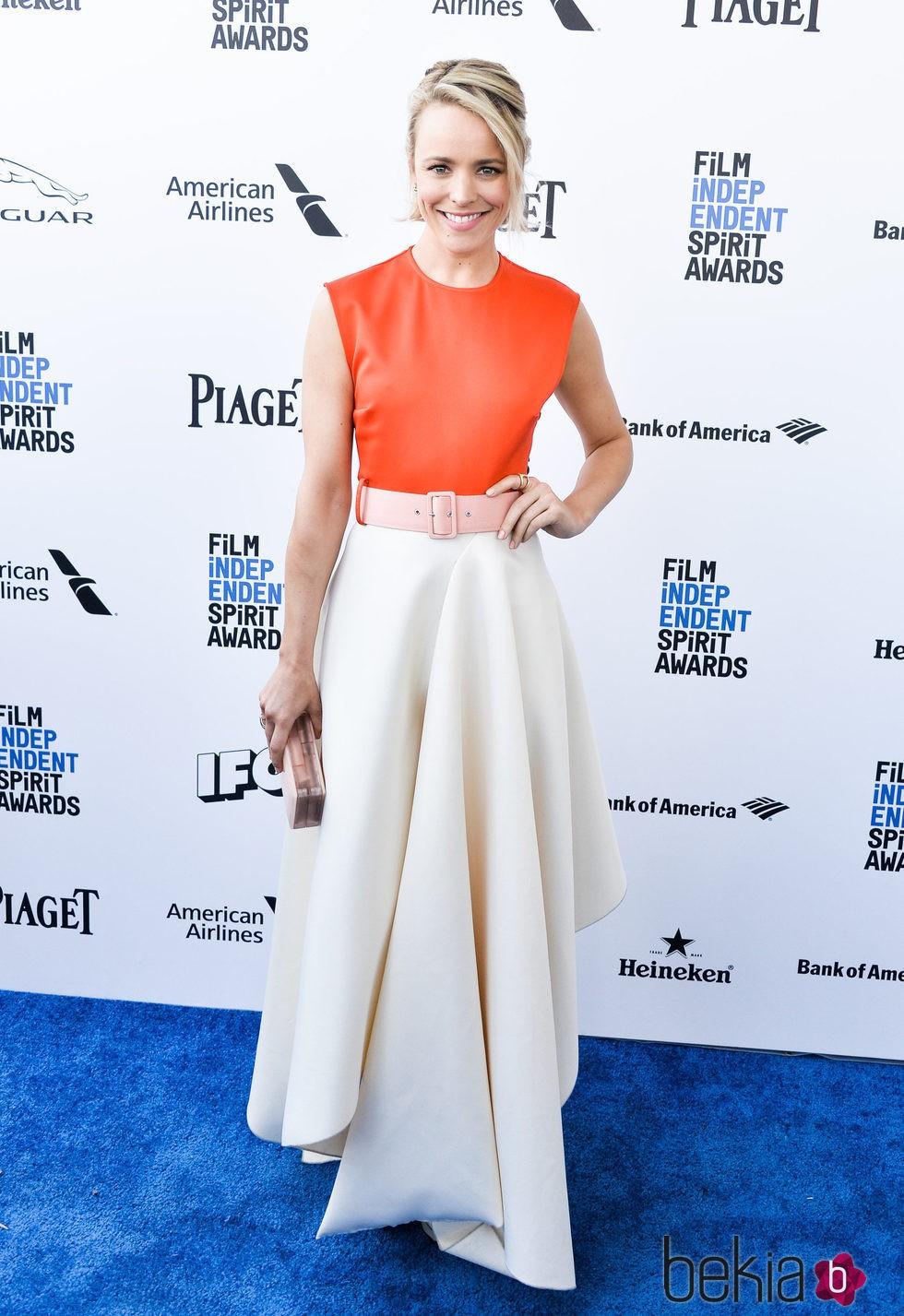 Rachel McAdams en la alfombra roja de los Independent Spirit Awards 2016