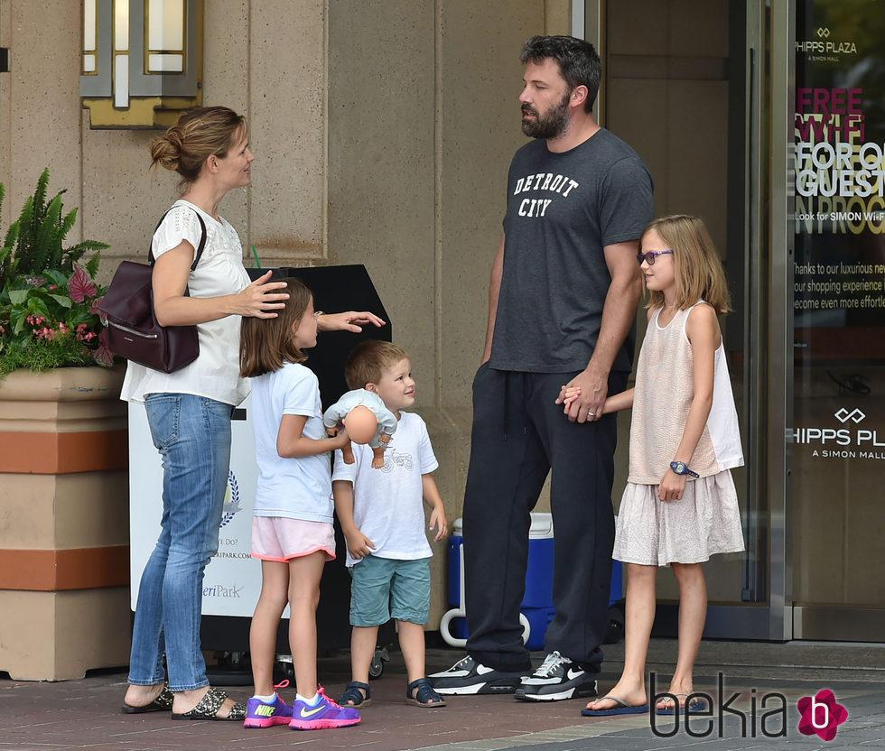Ben Affleck y Jennifer Garner, respeto mutuo por sus hijos