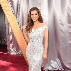Maria Menounos en la alfombra roja de los Premios Oscar 2016