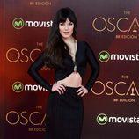 Sara Vega en la fiesta de los Oscar 2016 en Madrid