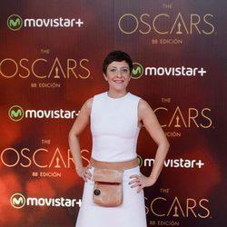 Eva Hache en la fiesta de los Oscar 2016 en Madrid