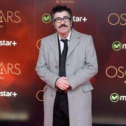 Agustín Jiménez en la fiesta de los Oscar 2016 en Madrid