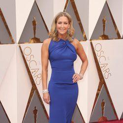 Lara Spencer en la alfombra roja de los Premios Oscar 2016