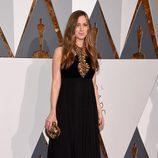 Hannah Bagshawe en la alfombra roja de los Premios Oscar 2016
