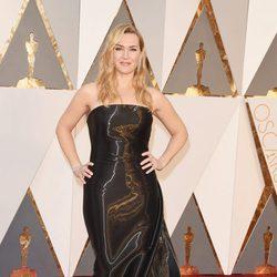Kate Winslet en la alfombra roja en los Premios Oscar 2016