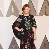Amy Poehler en la alfombra roja de los Premios Oscar 2016