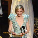 Cate Blanchett en la gala de los Premios Oscar 2016