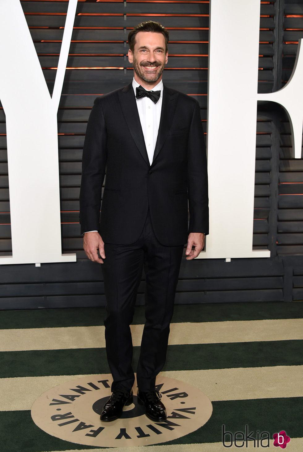 Jon Hamm en la fiesta Vanity Fair tras los Oscar 2016