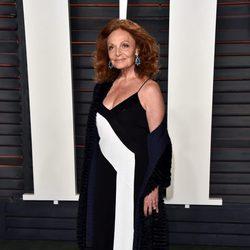 Diane von Furstenberg en la fiesta Vanity Fair tras los Oscar 2016