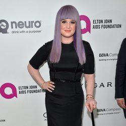 Kelly Osbourne en la fiesta de Elton John tras los Oscar 2016