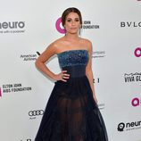 Lea Michele en la fiesta de Elton John tras los Oscar 2016