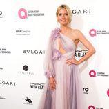 Heidi Klum en la fiesta de Elton John tras los Oscar 2016