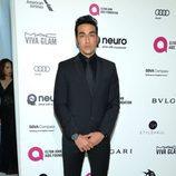 Armen Shahrigian en la fiesta de Elton John tras los Oscar 2016