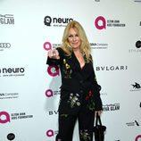 Nancy Wilson en la fiesta de Elton John tras los Oscar 2016