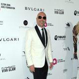 Elan Colen en la fiesta de Elton John tras los Oscar 2016