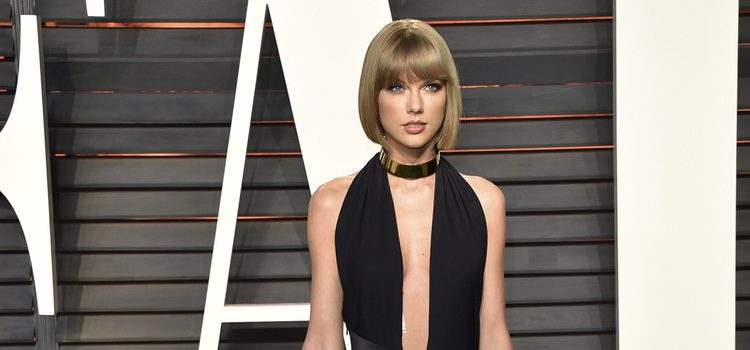 Taylor Swift en la fiesta de Vanity Fair tras los Oscar 2016