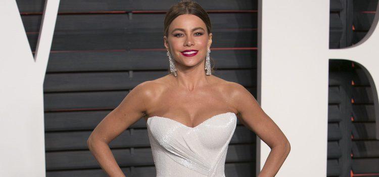 Sofia Vergara en la fiesta de Vanity Fair tras los Oscar 2016