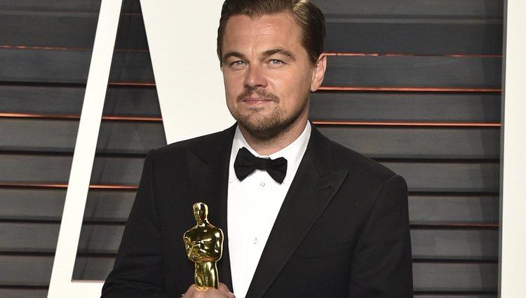 Leonardo DiCaprio en la fiesta de Vanity Fair tras los Oscar 2016