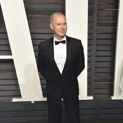 Michael Keaton en la fiesta de Vanity Fair tras los Oscar 2016