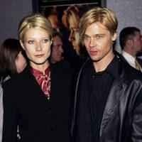 Gwyneth Paltrow y Brad Pitt en el estreno de 'La sombra del diablo'