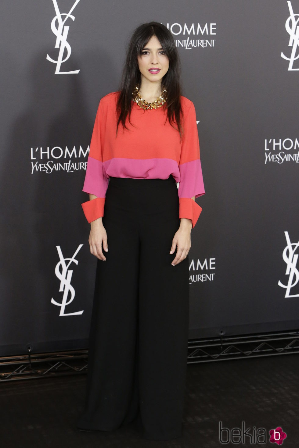 Cristina Brondo en el aniversario del perfume 'L'Homme' de Yves Saint Laurent en Madrid