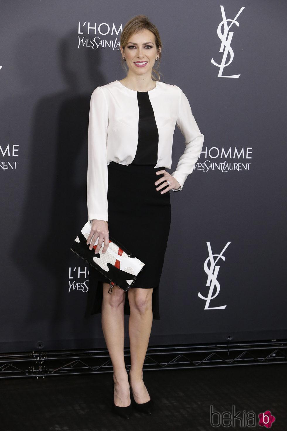 Kira Miró en el aniversario del perfume 'L'Homme' de Yves Saint Laurent en Madrid